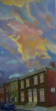 After the Storm: Morgan Street, Phoenixville by Trudy Campbell